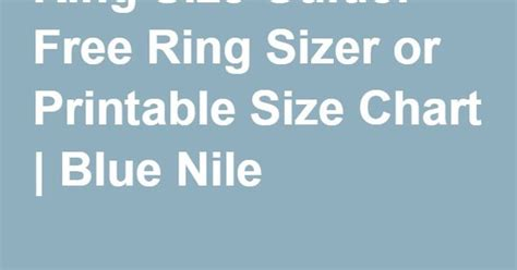 ring size chart printable blue nile search results for printable charts calendar 2015
