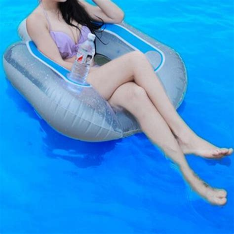 blow up pool bed pool inflatable adult float bed swim learning safety ring water kickboard alex nld