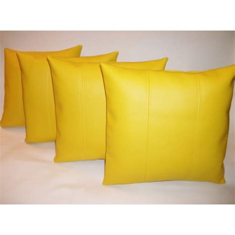 Yellow Cusion yellow cushion cover design ideas for decorating