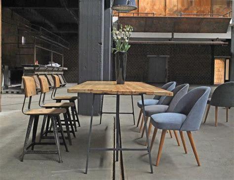 esszimmer le industrie meubles salle 224 manger 65 id 233 es avec l 233 clairage