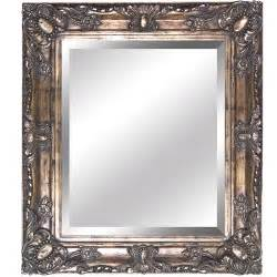 framed bathroom mirrors yosemite home decor ymt002s antique gold framed bathroom