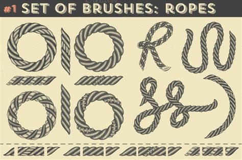 rope pattern brush free download stock graphic set of brushes 1 ropes 187 logotire com