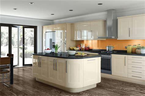 portway white gloss shaker jam kitchens