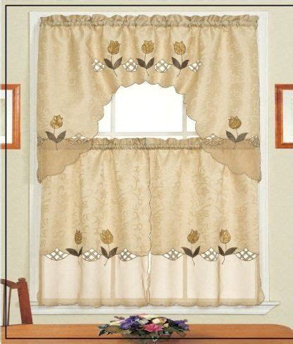 25 best ideas about brown kitchen curtains on