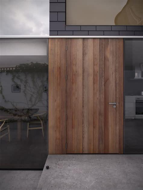 Wood Front Door With Glass by Wooden Front Door Glass House