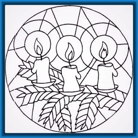 imagenes de mandalas navide as para pintar mandalas de navidad para colorear para ni 241 os archivos