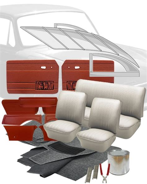 vw upholstery kits 1968 vw fastback interior kits jbugs
