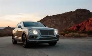 Bentley Suv Truck Bentley Bentayga Suv Recalled For Dashboards And