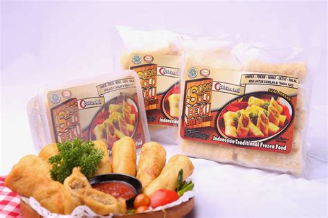 aneka makanan tradisional beku risol enak frozen bandung