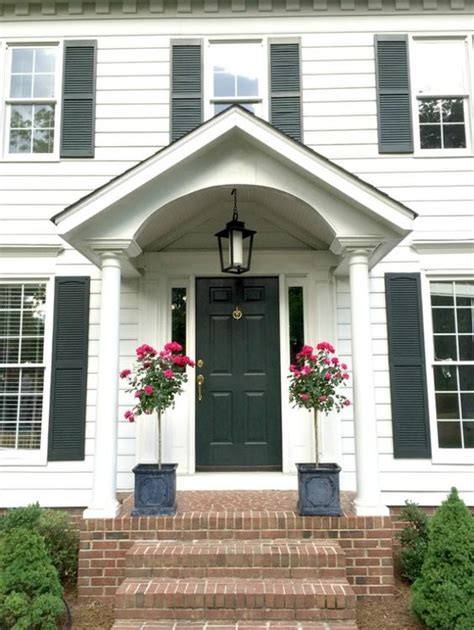 porches front porches and colonial on
