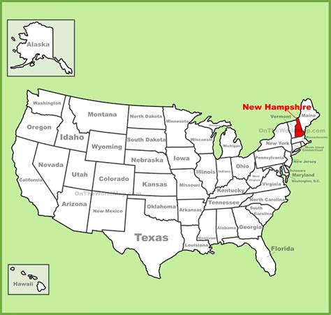 new hshire population map map of new hshire state map of america