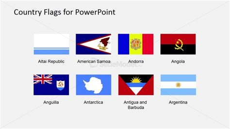 Flags Of The World Powerpoint Presentation Slidemodel Flags Of The World Powerpoint