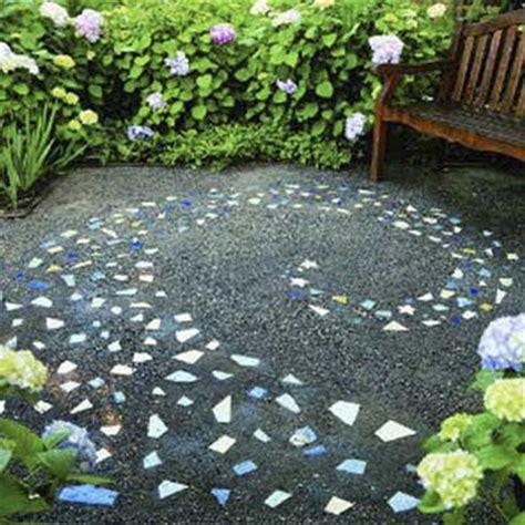 mosaic pattern patio galaxy swirls 8 great patterns for a pebble mosaic