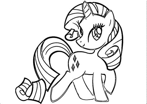 rarity pony coloring page rarity coloring page coloring home