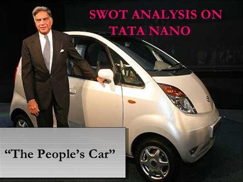Study On Tata Nano Project Mba by Tata Nano The Peoples Car Study Pdf Proofreadingx
