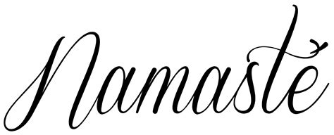 yoga tattoo fonts namaste ideas search and namaste