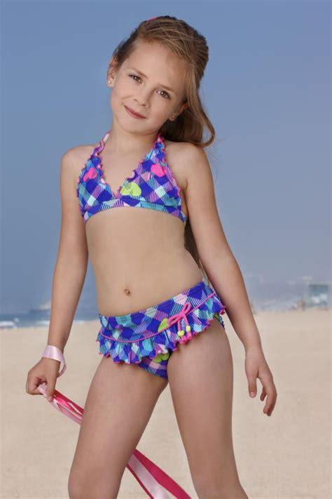 child girl swimwear bikinis gossip girls swimwear heart bikini size 4 6x trajes de