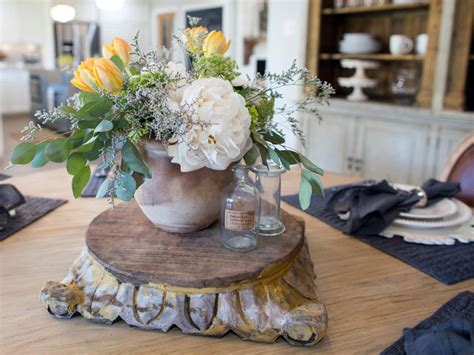 Fixer Dining Room Centerpieces Pet Friendly Mudroom Makeover From Fixer Hgtv S
