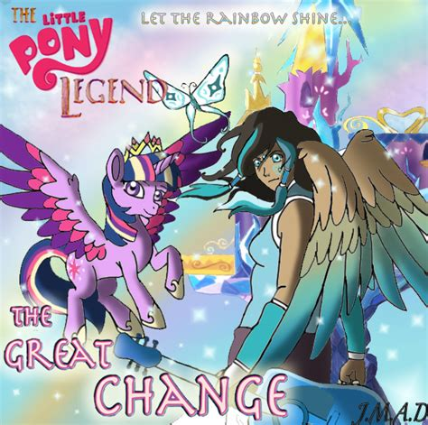 Poster Anime Poster The Legend Of Kin 1 the pony legend the great change by