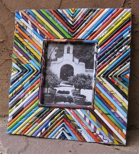 How To Make Paper From Magazines - 25 best ideas about recycled paper crafts on