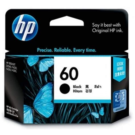 Hp 60 Ink Cartridge Black Cc640wa hp 60 black ink cartridge cc640wa