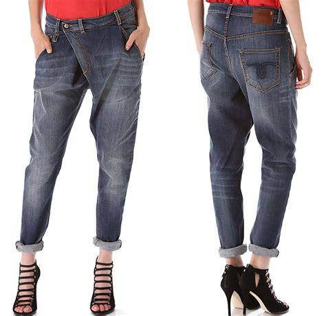 jean style trends 2015 r13 denim womens crossover slouchy boyfriend jeans denim