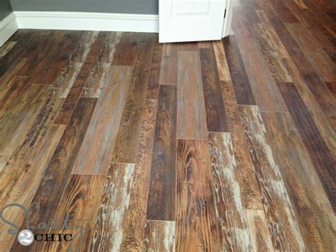 Refurbished Barn Wood Flooring by Authentic Flooring Used By The Shanty2chiq Looks