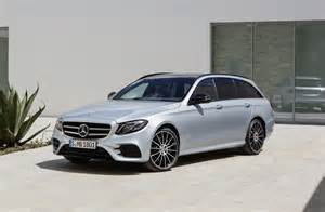 Mercedes Estate Wagon 2017 Mercedes E400 Wagon Vs Volvo V90