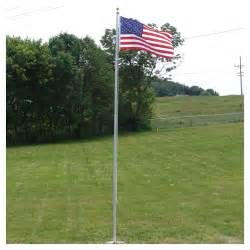 Engraved Jewelry 20ft Residential Flag Pole W Us Made Nylon Flag