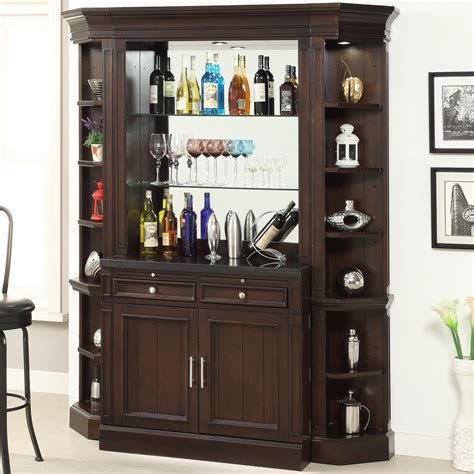 costco wine cabinet granite top parker house stanford bar with granite top and wine rack