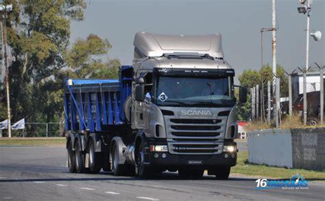 scania argentina present 243 sus nuevos camiones p250 y