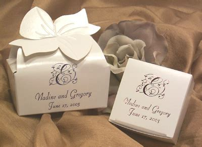 Personalized Boxes   Wedding Favors   Bridal Shower Favors
