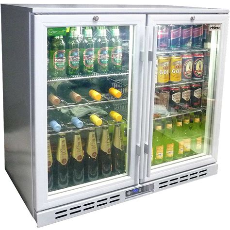 Rhino 2 Glass Door Silver Commercial Bar Fridge With Lg Glass Door Fridge Australia