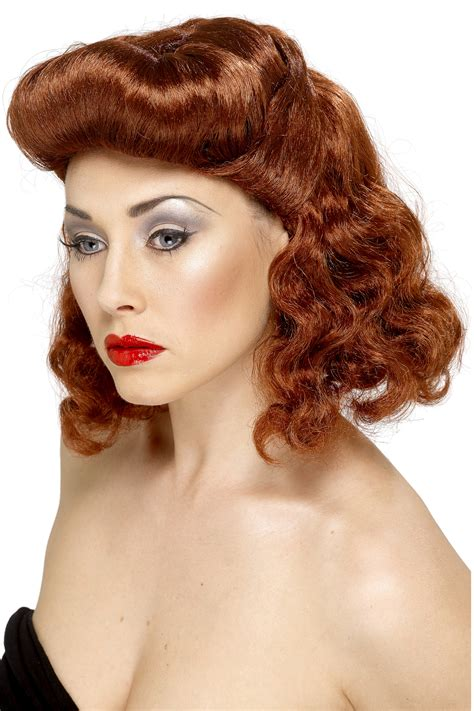 wigs for women over 80 brown pin up wig for women wigs and fancy dress costumes