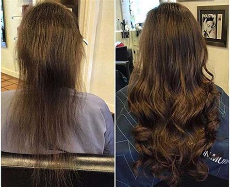 before after di biase hair extensions usa on pinterest di biase hair extensions usa before and afters