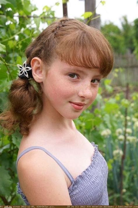 Pic Nude Pretty Freckles Twelve Yo Angel Preteen B Her Adorable Freckles