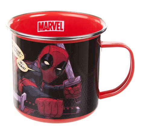 gifts for marvel deadpool enamel mug qt gifts trendy accessories and gifts