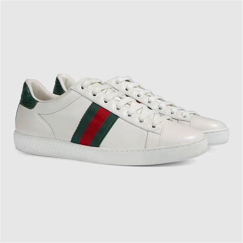 gucci sneaker ace leather sneaker gucci s sneakers 387993a38309071