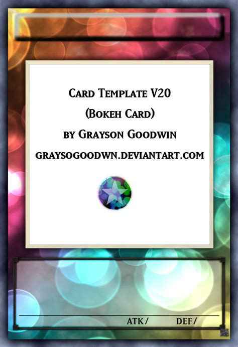 yugioh card zones template png yu gi oh bokeh layout template by graysogoodwn on deviantart