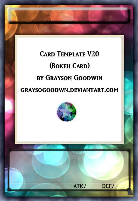 yugioh card levels template yu gi oh bokeh layout template by graysogoodwn on deviantart