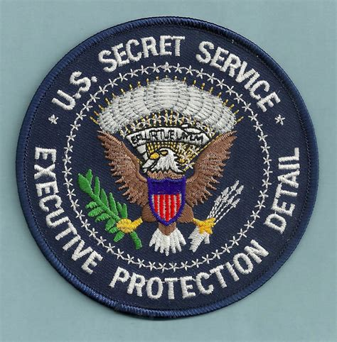 service patches united states secret service executive protection detail patch