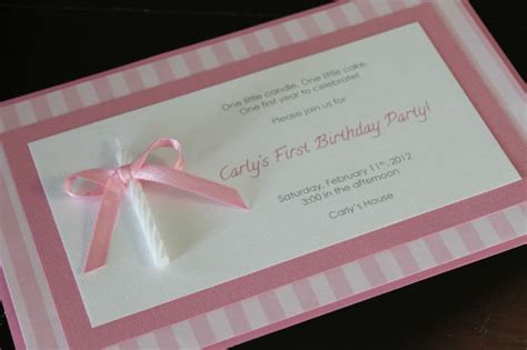 diy 1st birthday invitations birthday invitations ideas