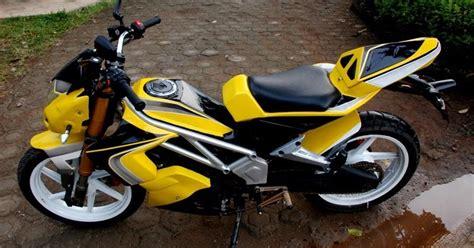Motor Jupiter Mx Warna Orange by Jupiter Mx Modifikasi Yellow Color Modifikasi Motor