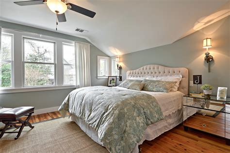 Tranquil Color Paint by Ave G Transitional Bedroom Austin By Avenue B