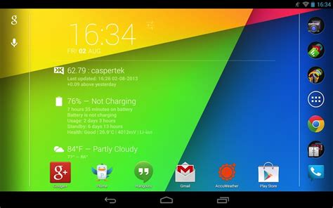 home screen android l images