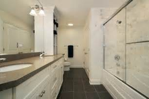 Narrow Bathroom Makeovers Narrow Bathroom Remodel Signature Services