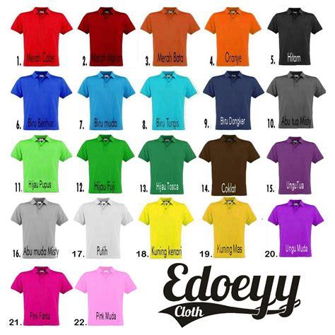 Kaos Polo Kerah Casual Fashion Distro 9 jual polo shirt hitam baju kaos kerah t shirt berkerah cowok pria edoeyy clothing