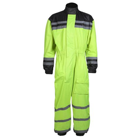 Hi Vis High Visibility Waterproof Motorcycle Bike Cycling