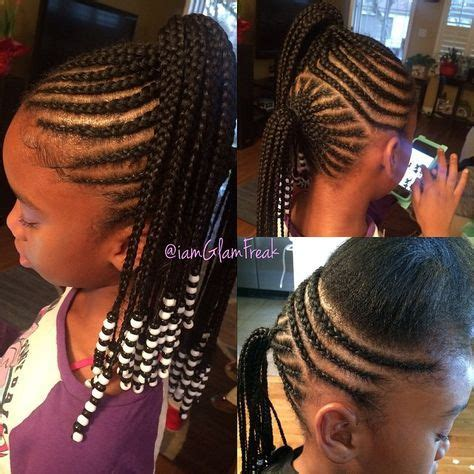 kids scalp braids with loose ends braids beads the ultimate quot baby glam package quot saving