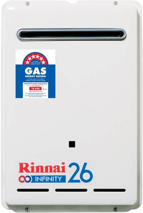 Water Heater Rinnai 50 Liter rinnai inf26l50m 26l lpg continuous flow water system